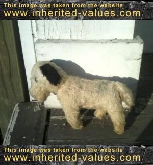 antique-sawdust-stuffed-dog