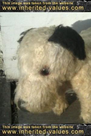 sweet-vintage-stuffed-dog-face