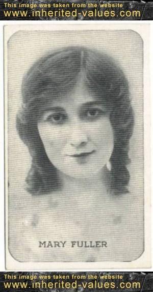 Mary Fuller Kromo Gravure Card