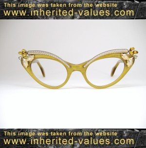 Images Of Eyeglass Frames : Vintage Cat Eye Sunglasses Images & Pictures - Becuo