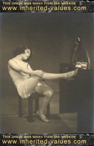 Antique erotic art french