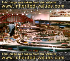 Model railroad for sale