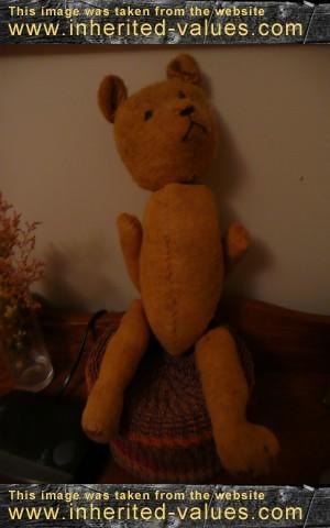 My Mom's Old Teddy Bear