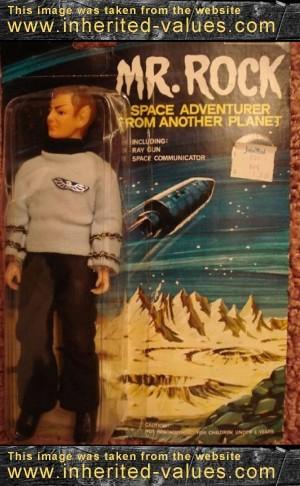 mr rock space adventurer toy