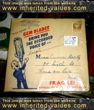 vintage gem blades record