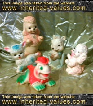 Collectibles That Are Worthless Vintage Rubber Squeaky Toys