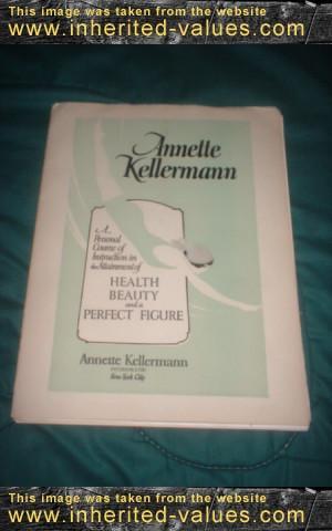 vintage health beauty perfect figure course by silent film star annette kellermann