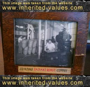 vintage cofee grinder