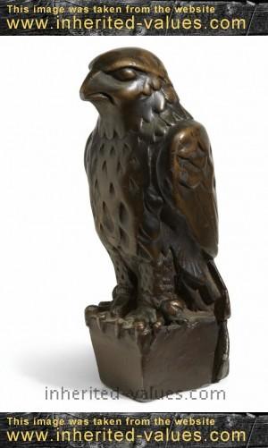 The Maltese Falcon statuette