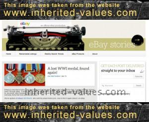 ebay stories wwi medal