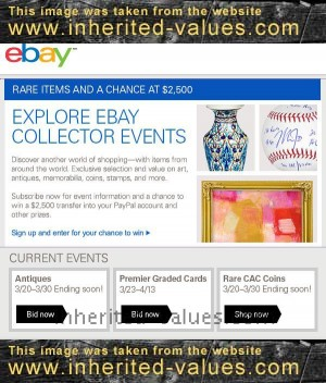 ebay collector events sweepstakes