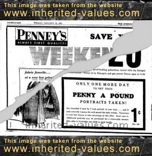 penny-a-pound-ad-january-1952