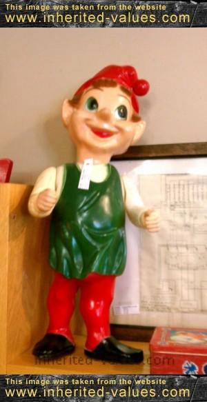 billie the brownie statue vintage