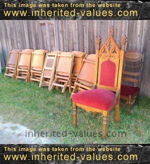 antique church chairs - Antique Church Chairs – Inherited Values