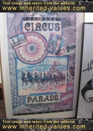Vintage Clown & Circus Memorabilia Up For Sale