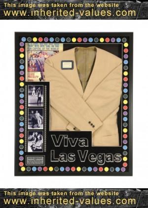 Elvis Presley Jacket from the Viva Las Vegas Dance Scene with Ann-Margret