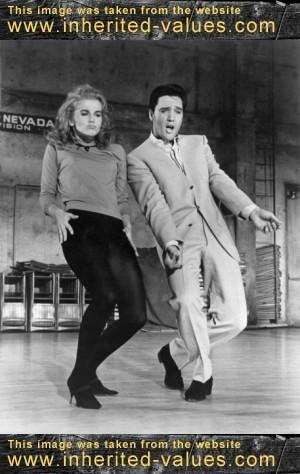 elvis and Ann-Margret dance in Viva Las Vegas