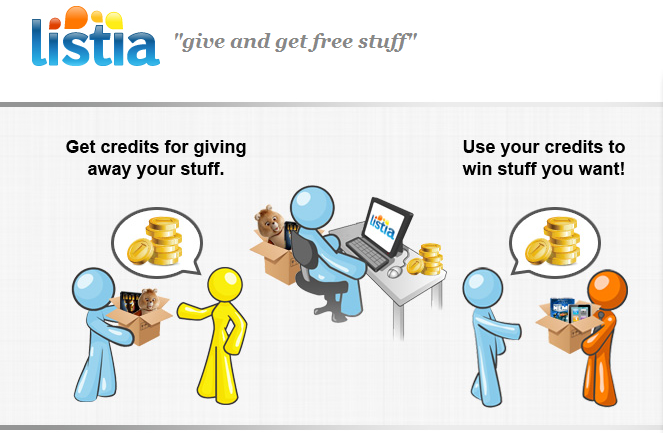 Listia Auctions for Free Stuff