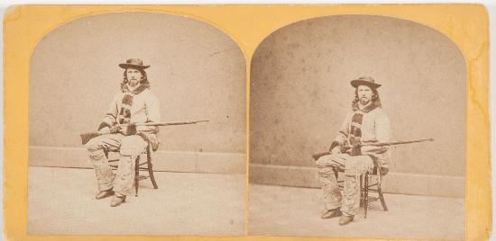 early antique buffalo bill photographs